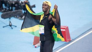 Usain Bolt bei den Olympischen Spielen in Rio de Janeiro