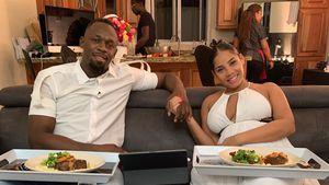 Usain Bolt teilt neues Foto mit hochschwangerer Freundin