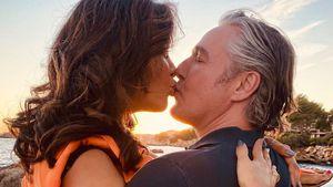 Romantik pur! Verona Pooth teilt Knutschfotos mit Franjo
