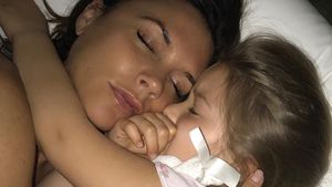 Victoria Beckham mit Töchterchen Harper Seven