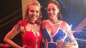 Victoria Swarovski und Supertalent-Siegerin Angel Flukes