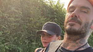 Süß! Victoria & David Beckham beim romantischen Spaziergang