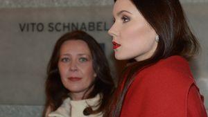 Viktoria und Nathalie Volk bei der Galerie-Eröffnung von Vito Schnabel in St. Moritz 2015