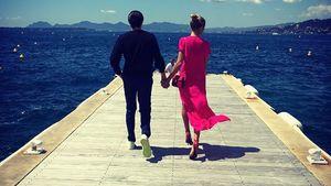 Vito Schnabel und Heidi Klum in Cannes