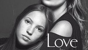 Vogue-Cover mit Kate Moss und ihrer Tochter Lila Grace