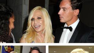 Donatella Versace und Jonathan Rhys Meyers