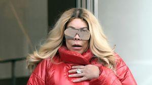 Ist das noch Mode? Wendy Williams im Schlafsack-Look