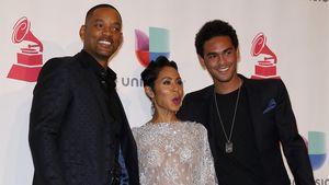 Süßer Familienauftritt: Will Smith albert mit Jada & Trey