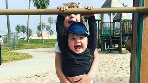 Geschwister-Action: So sportlich sind Pinks Knirpse schon!