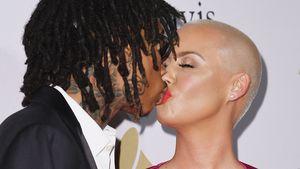 Wiz Khalifa und Amber Rose bei der Pre-GRAMMY Gala in L.A.