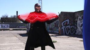 Wolfgang Bahro als Superheld