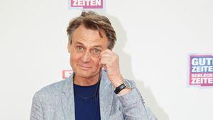 Beim Spaziergang: GZSZ-Star Wolfgang Bahro bricht sich Hand