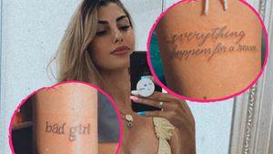 Schon wieder neue Tattoos: Yeliz Koc setzt auf Sinnsprüche