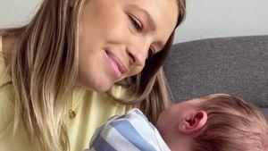 Ein Junge: Yvonne Schröder ist zum dritten Mal Mama geworden