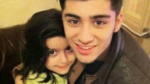 Zayn Malik mit seiner Cousine Arshiya