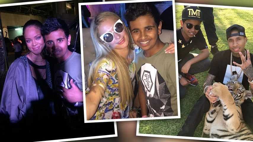 Tyga, RiRi & Co.: Netz-Star Rashed (14) kennt alle Promis!