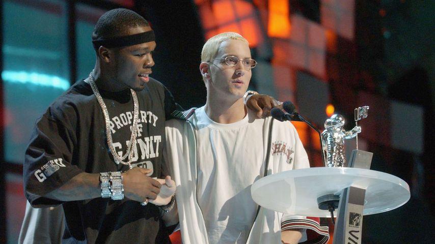 50 Cent und Eminem zusammen bei den MTV Video Music Awards 2003
