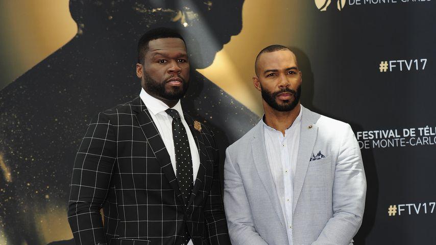 50 Cent und Omari Hardwick beim Monte Carlo Television Festival in Monaco