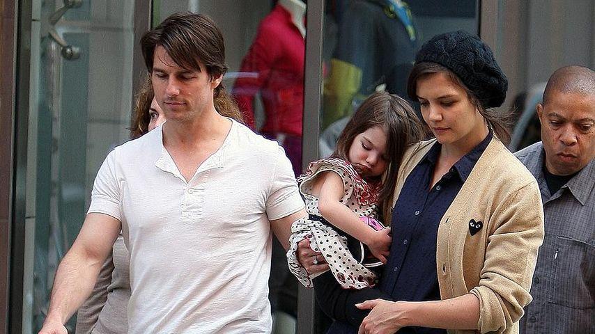 Suri Cruise, Tom Cruise und Katie Holmes
