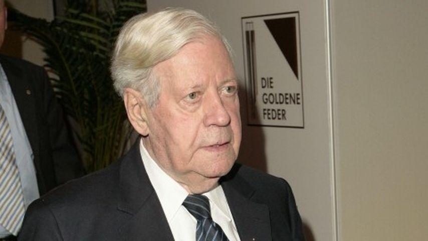Altkanzler Helmut Schmidt: Sein Zustand bessert sich!