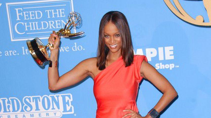 Tyra Banks nach ihrem Emmy-Gewinn