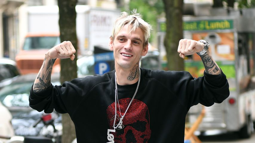 Aaron Carter, September 2019