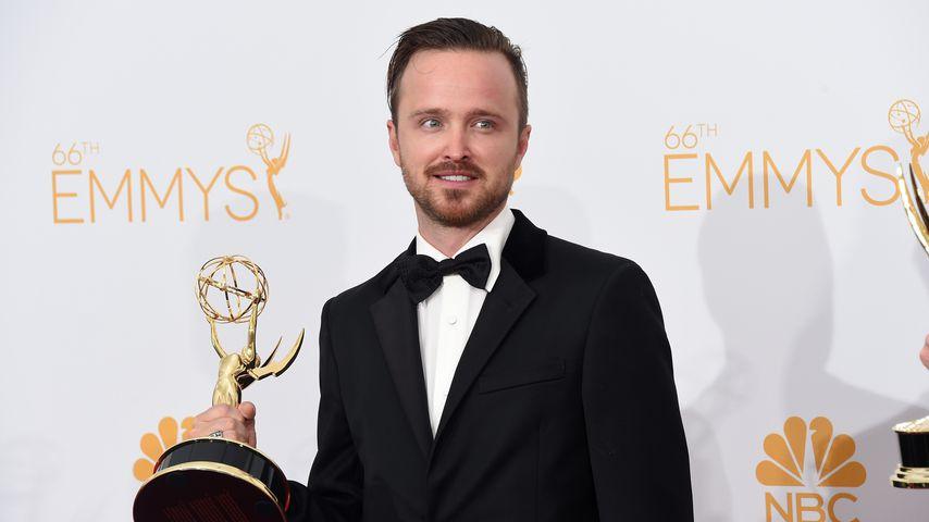 Aaron Paul bei den Emmys im August 2014