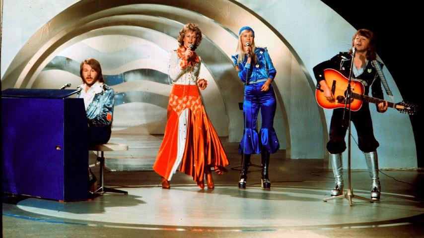 ABBA im Jahr 1974