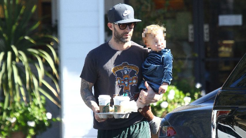 Adam Levine und seine Tochter Dusty Rose