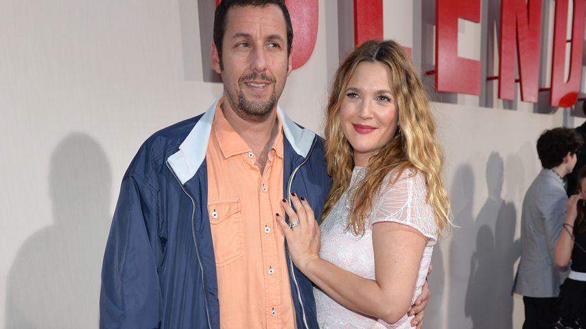 Adam Sandler und Drew Barrymore im Mai 2014