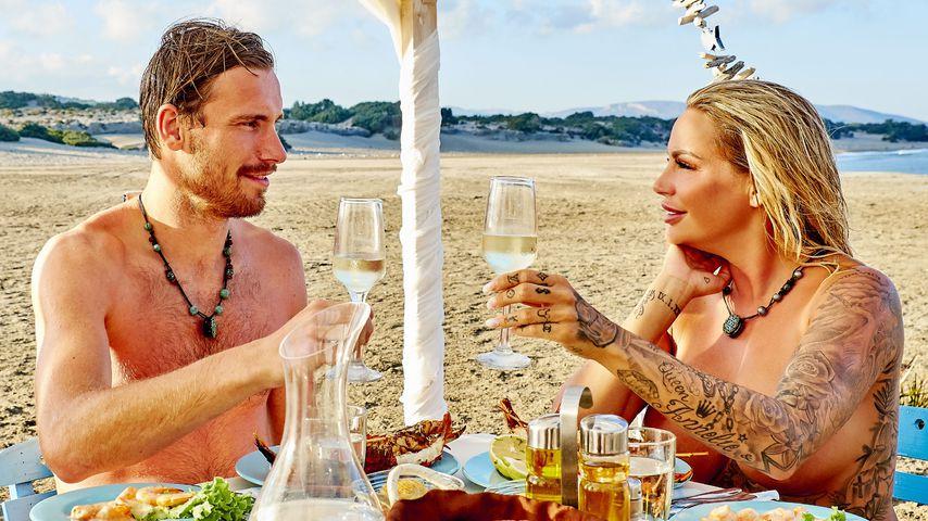 "Erster Strand-Flirt! Gina-Lisa mag ""Adam sucht Eva""-Normalo"