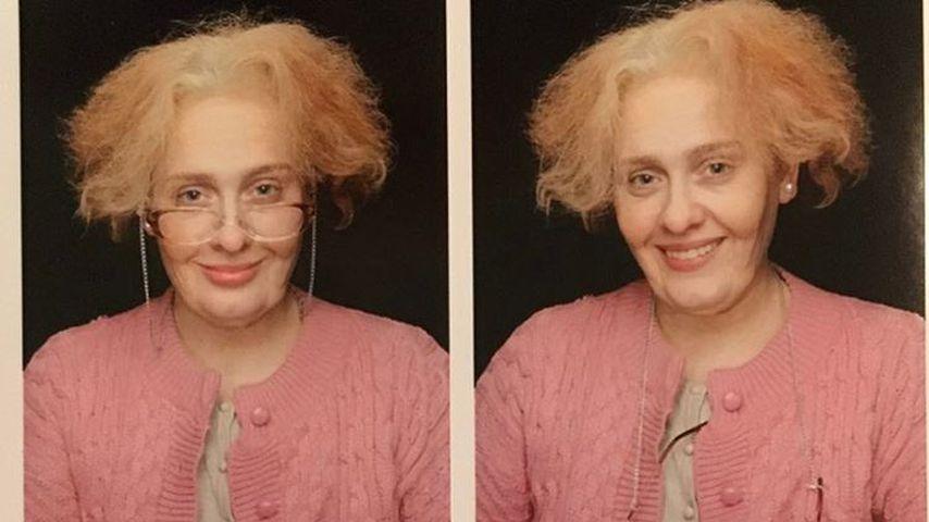 Ganz schön faltig geworden: Adele ist plötzlich alte Oma!
