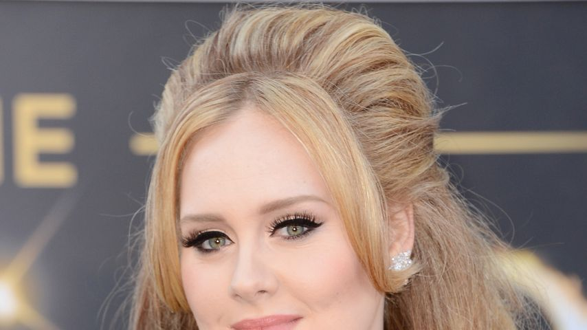 Adele bei der Oscar-Verleihung 2013