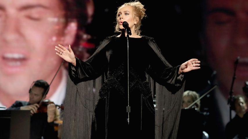 Adele bei ihrem Grammy-Auftritt 2017