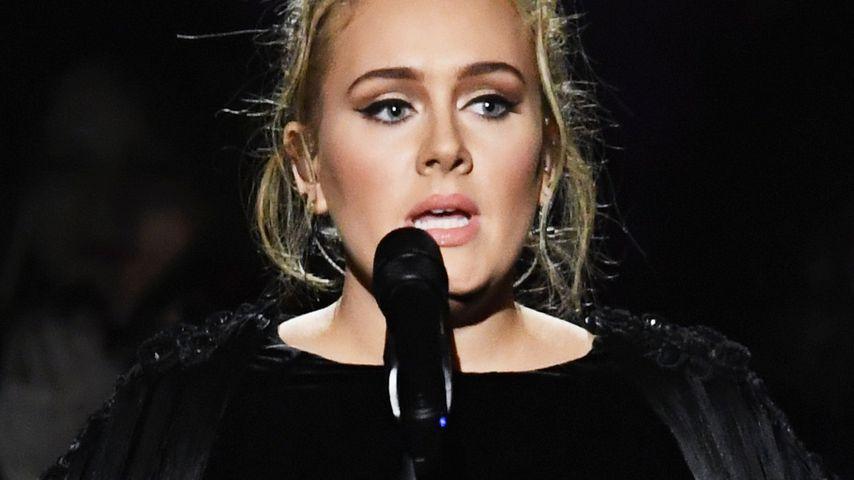 Adele bei den Grammys in L.A. im Februar 2017