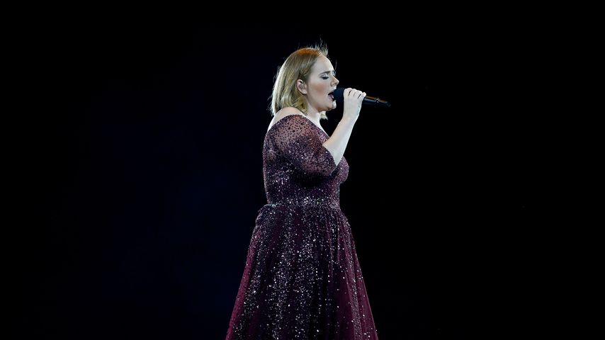 Adele Adkins bei einem Konzert im März 2017
