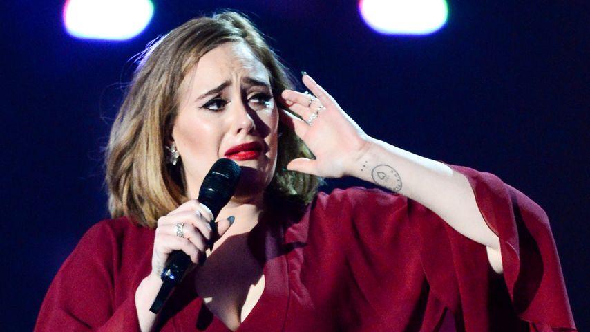 Adele Adkins bei den Brit Awards