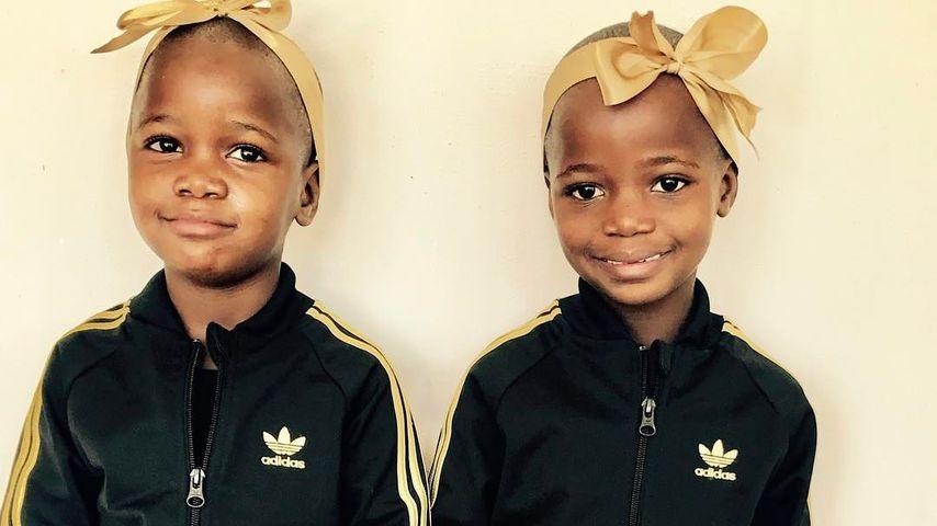 Adoptierte Zwillinge: So putzig sind Madonnas Twin-Girls!