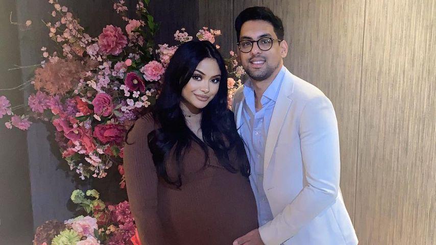 Afshan Azad und ihr Mann Nabil Kazi