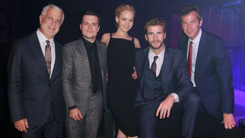 Liam Hemsworth, Jennifer Lawrence und Josh Hutcherson
