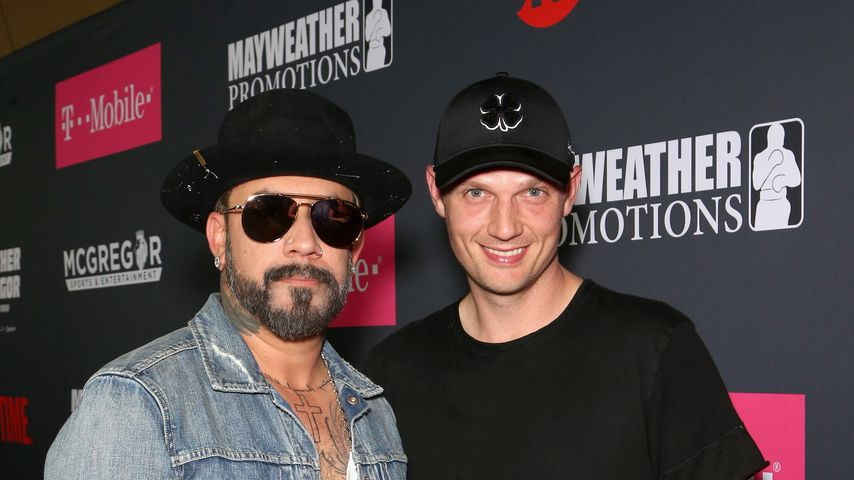 AJ McLean macht James Franco Selfie-Konkurrenz