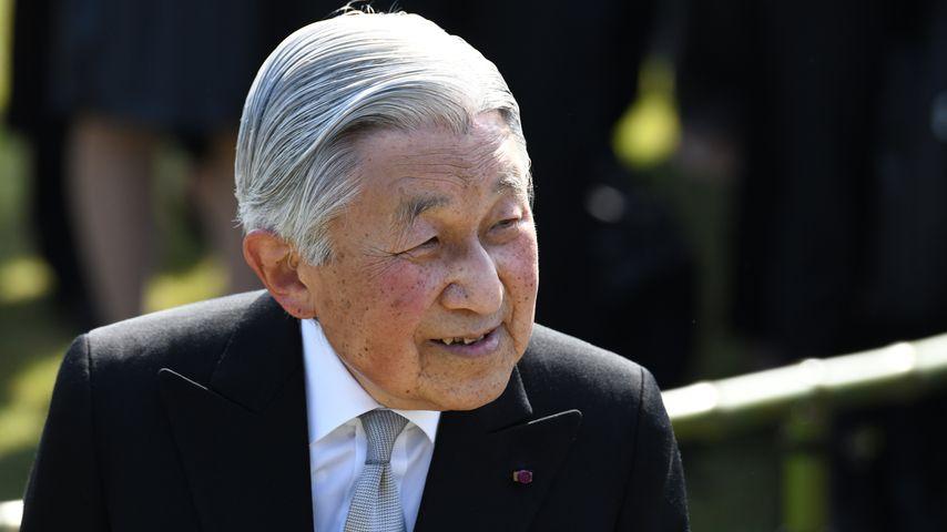 Der ehemalige japanische Kaiser Akihito