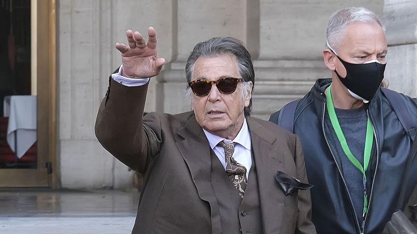 "Al Pacino am Set von ""House of Gucci"""