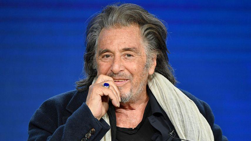 Al Pacino bei einer Pressekonferenz in Pasadena im Januar 2020
