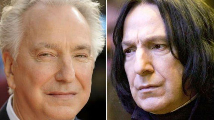 "Alan Rickman als Severus Snape in ""Harry Potter"""