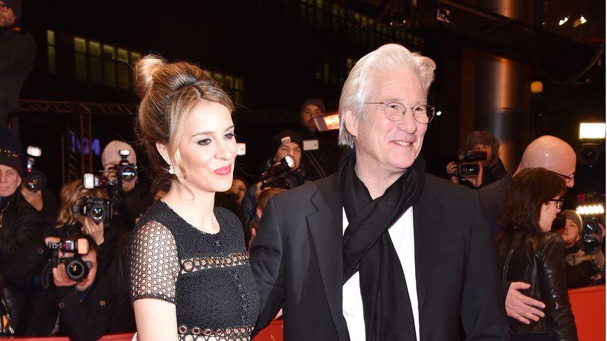 Alejandra Silva und Richard Gere auf der Berlinale 2017