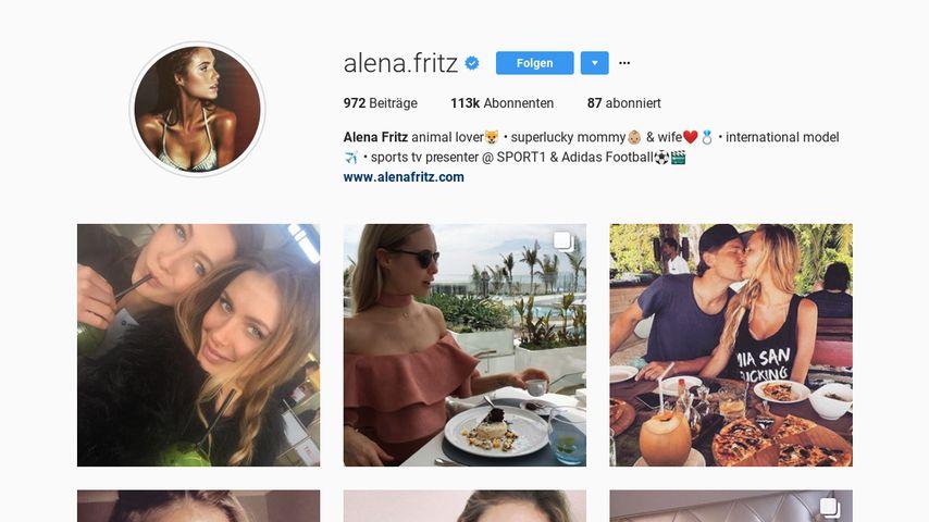 Alena Fritz Instagram