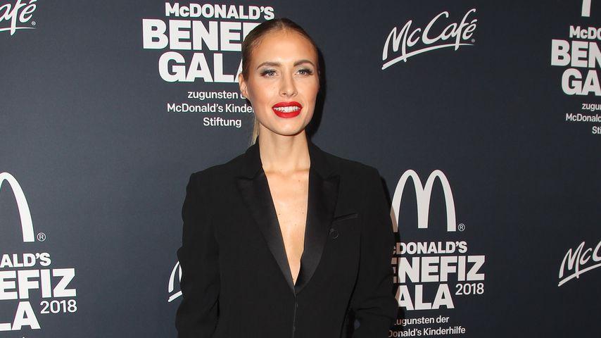Alena Fritz auf der McDonald's Benefiz Gala 2018