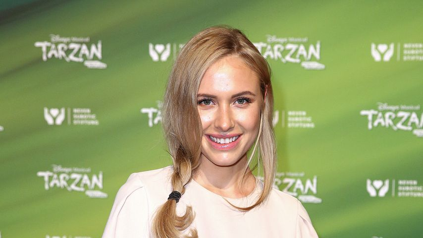 "Alena Gerber bei der ""Tarzan""-Musical-Premiere im November 2017"