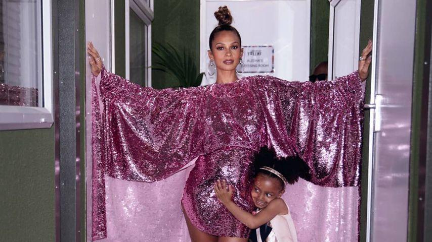 Alesha Dixon mit ihrer Tochter Azura
